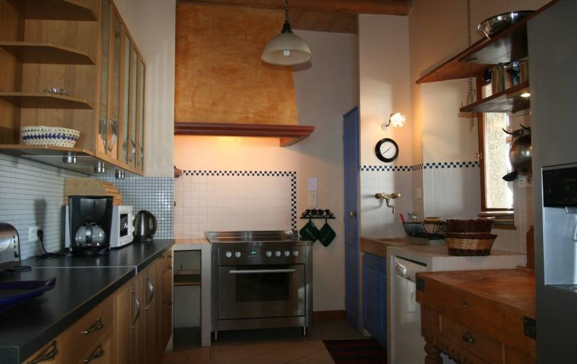 Location de vacances - Chalet à Puy-Saint-Vincent - La cuisine