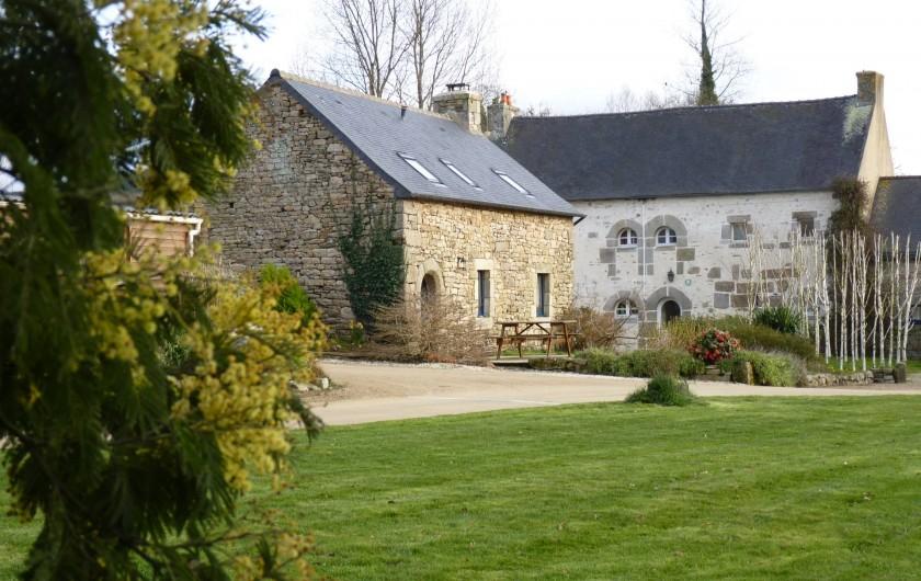 Location de vacances - Gîte à Plouégat-Moysan - Le jardin
