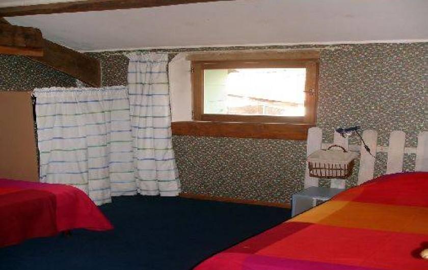 Location de vacances - Gîte à Saint-Alban-d'Ay - Chambre - 2 lits 90