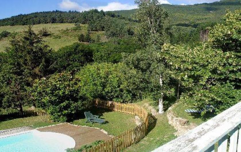 Location de vacances - Gîte à Saint-Alban-d'Ay - Vue