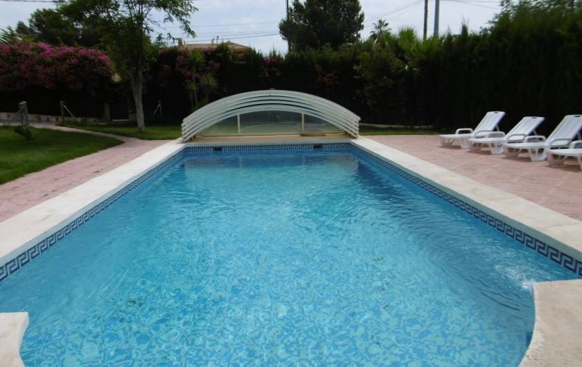 Location de vacances - Villa à Sant Vicent del Raspeig - jardin
