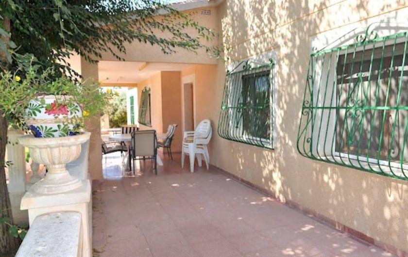 Location de vacances - Villa à Sant Vicent del Raspeig - Terraza