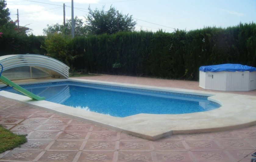 Location de vacances - Villa à Sant Vicent del Raspeig - Piscina Terraza