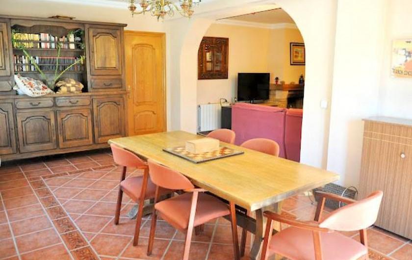 Location de vacances - Villa à Sant Vicent del Raspeig - comedor