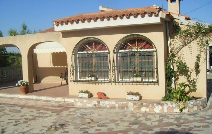 Location de vacances - Villa à Sant Vicent del Raspeig - Entrada