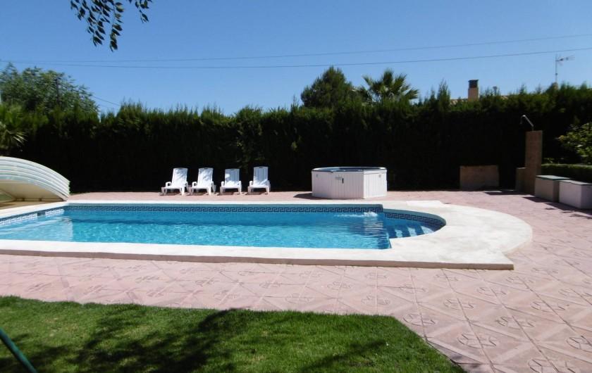 Location de vacances - Villa à Sant Vicent del Raspeig - piscina