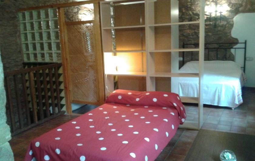 Location de vacances - Chalet à Tagamanent - Chambre Blaiet, num.5 (dans la zone commune à l'étage)