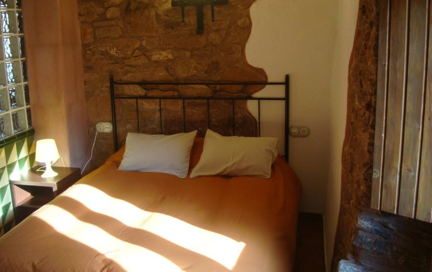Location de vacances - Chalet à Tagamanent - Chambre Blai, num.3 (à l'étage)