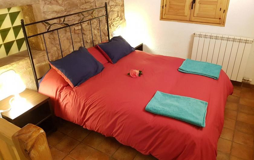 Location de vacances - Chalet à Tagamanent - Chambre  Rosa, num 1  (en bas)