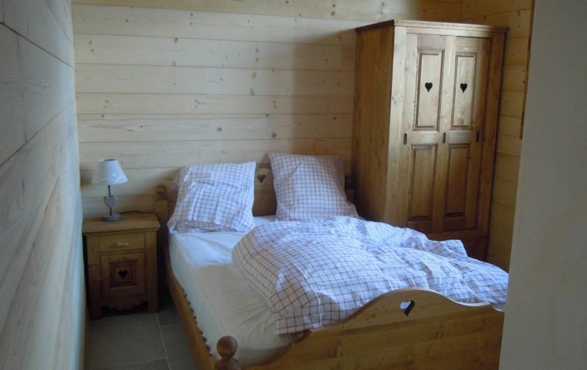 Location de vacances - Appartement à Saint-Sorlin-d'Arves - chambre1