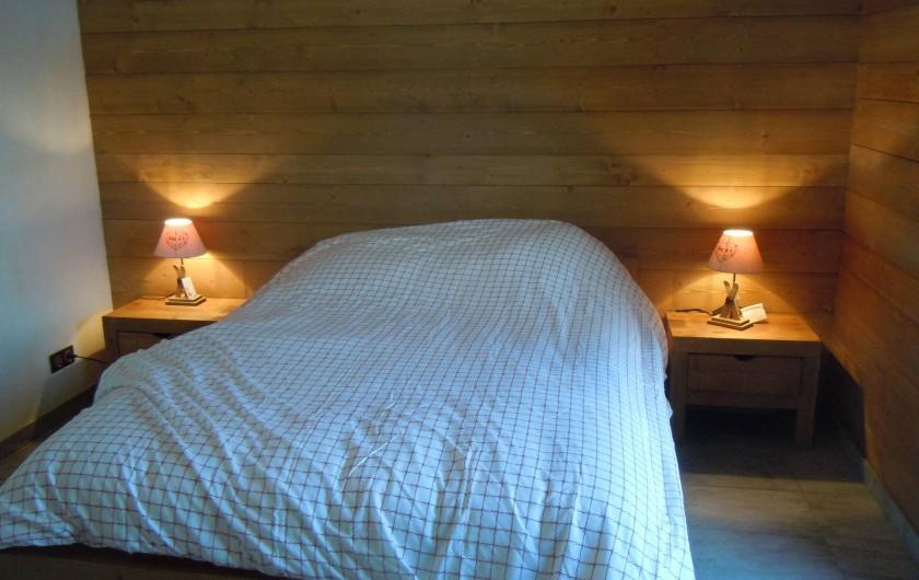 Location de vacances - Appartement à Saint-Sorlin-d'Arves - chambre3
