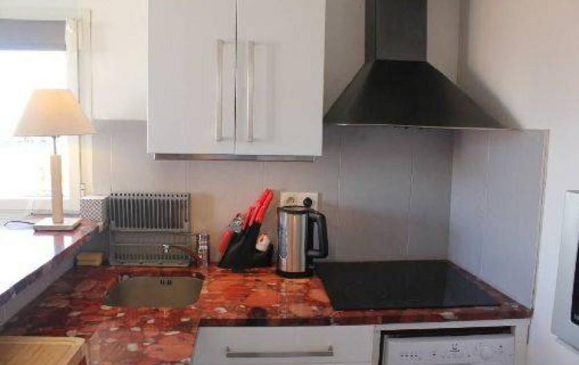 Location de vacances - Appartement à La Rochelle - Cuisine