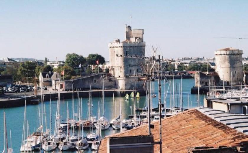 Les Tours du Vieux Port vues depuis la terrasse