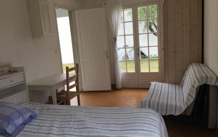 Location de vacances - Villa à Saint-Denis-d'Oléron - Chambre annexe