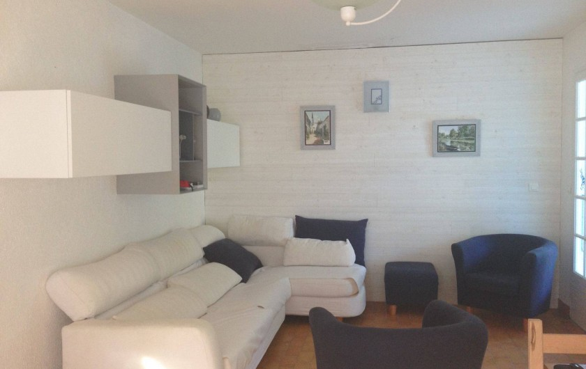 Location de vacances - Villa à Saint-Denis-d'Oléron - L'espace salon