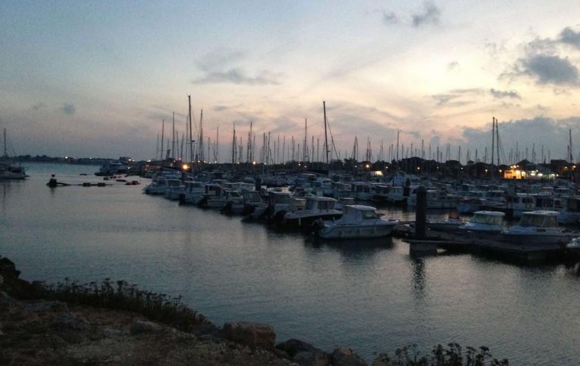 Location de vacances - Villa à Saint-Denis-d'Oléron - Le port de Saint-Denis la nuit