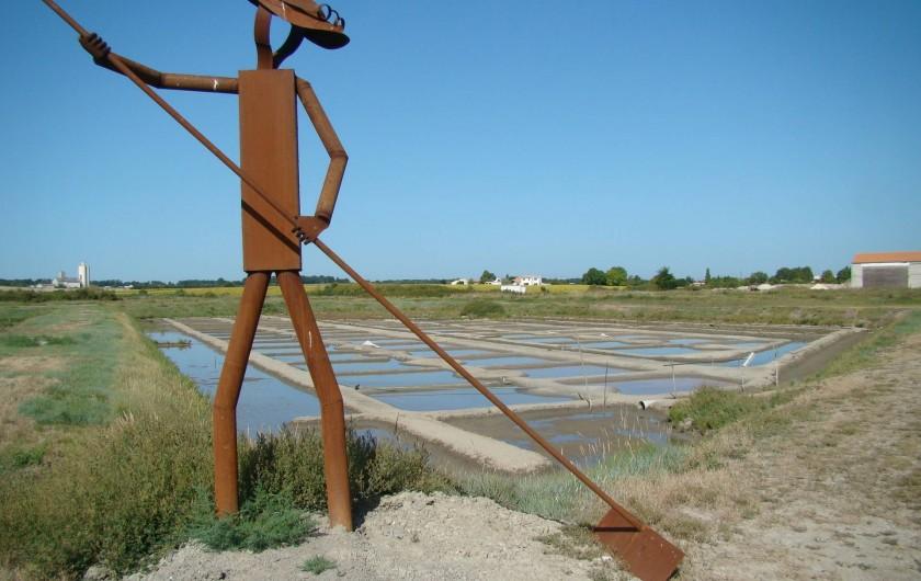 Location de vacances - Villa à Saint-Denis-d'Oléron - à proximité : Les marais salants