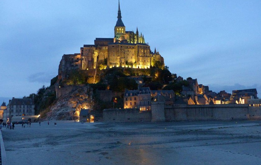 Location de vacances - Appartement à Granville - Le Mont St Michel