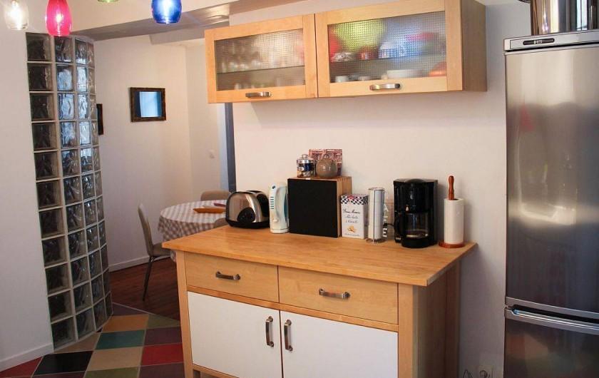 Location de vacances - Appartement à Granville - Cuisine équipée