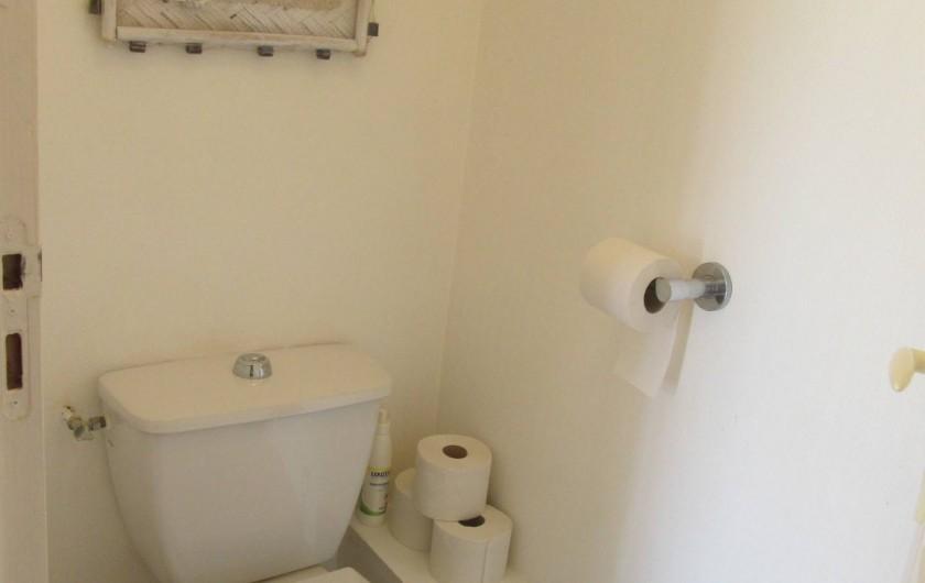 Location de vacances - Appartement à Capbreton - Toilettes indépendantes