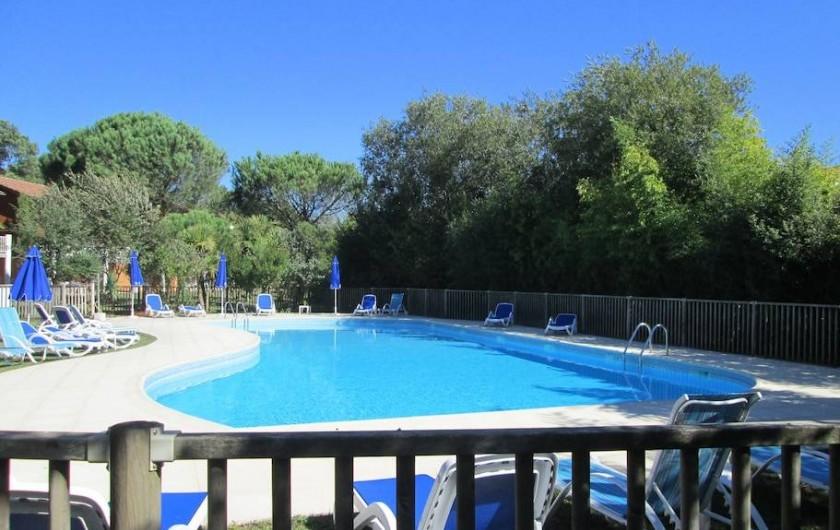 Location de vacances - Appartement à Capbreton - Autre vue piscine