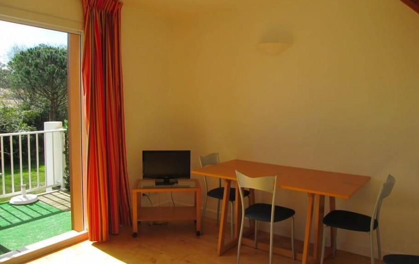 Location de vacances - Appartement à Capbreton - repas à l'intérieur