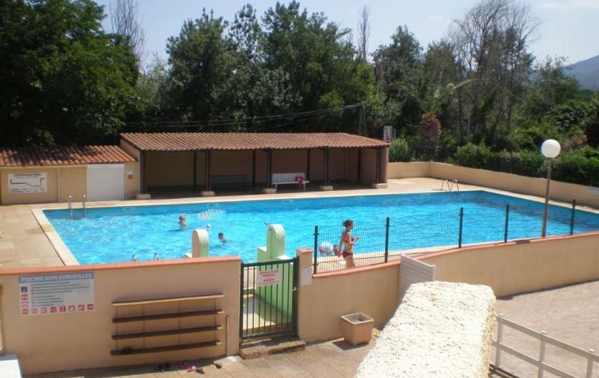 Location de vacances - Bungalow - Mobilhome à Argelès-sur-Mer - piscine