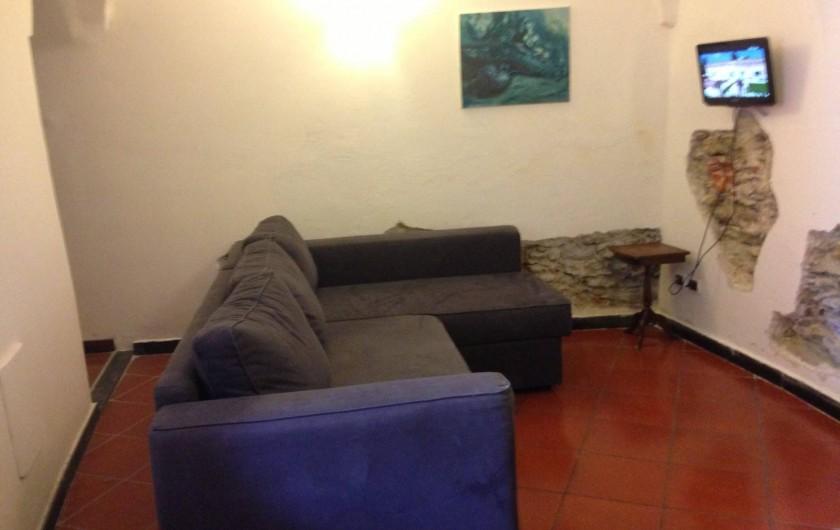 Location de vacances - Appartement à Calice Ligure - living