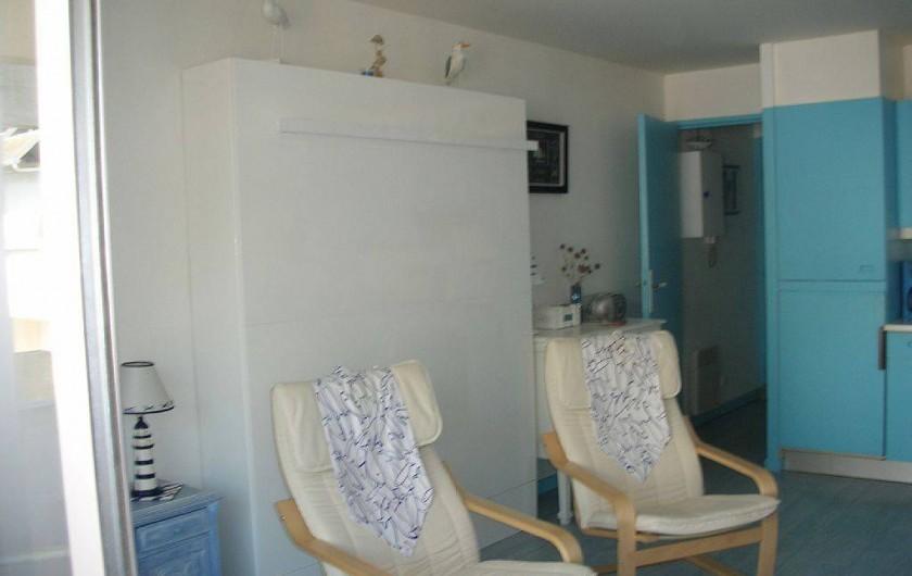 Location de vacances - Studio à Le Touquet-Paris-Plage - LIT ET FAUTEUILS