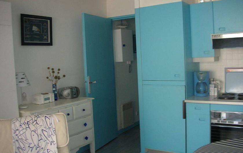 Location de vacances - Studio à Le Touquet-Paris-Plage - VERS L'ENTREE