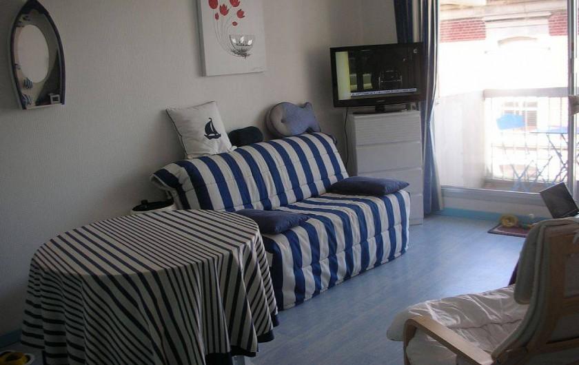 Location de vacances - Studio à Le Touquet-Paris-Plage - PIECE DE VIE