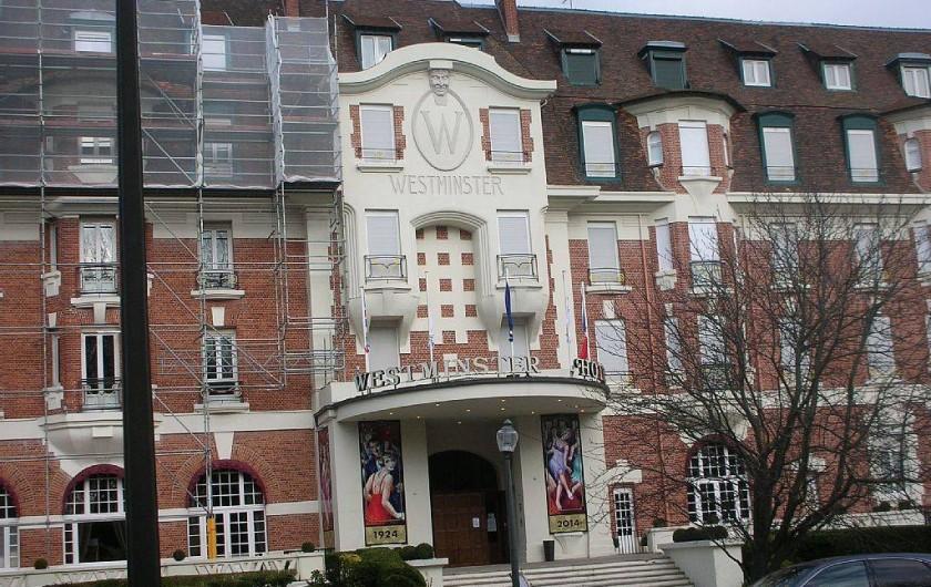 Location de vacances - Studio à Le Touquet-Paris-Plage - HOTEL WESTMINSTER