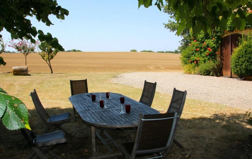 Location de vacances - Maison - Villa à Montagnac-sur-Lède - Table de jardin