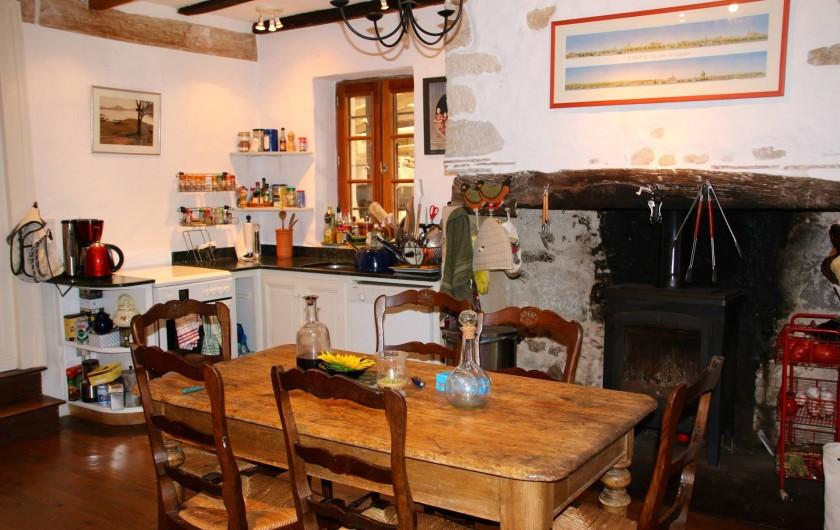 Location de vacances - Maison - Villa à Montagnac-sur-Lède - Cuisine