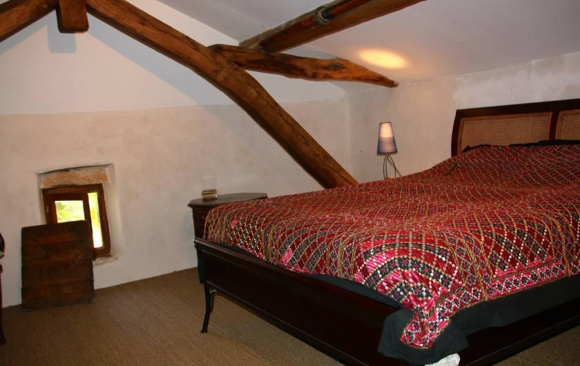 Location de vacances - Maison - Villa à Montagnac-sur-Lède - Chambre dans les combles