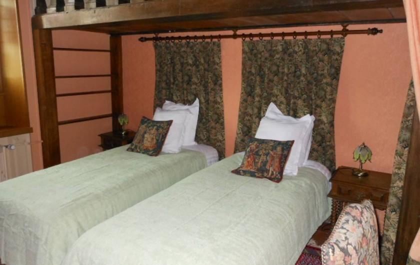 Location de vacances - Chambre d'hôtes à Bailleau-Armenonville - Chambre Agnès Sorel de la suite des Favorites
