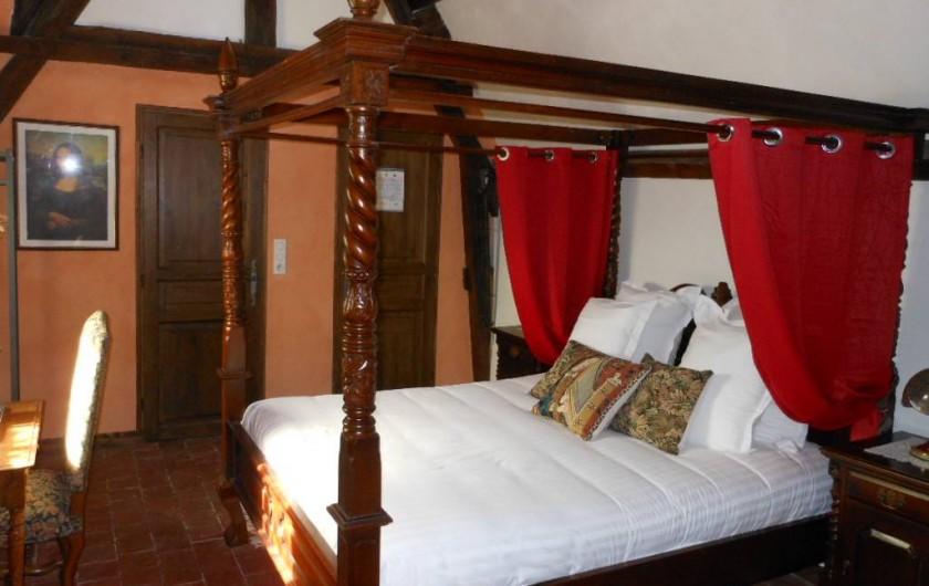 Location de vacances - Chambre d'hôtes à Bailleau-Armenonville - Chambre Léonard de Vinci