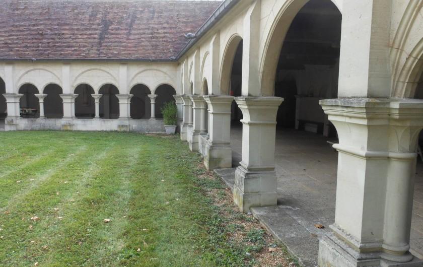Location de vacances - Chambre d'hôtes à Bailleau-Armenonville - Cloître attenant au Manoir