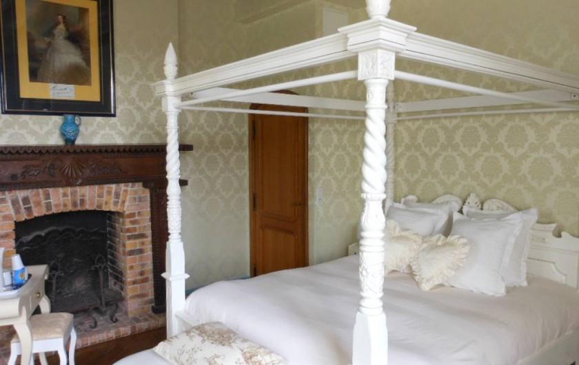 Location de vacances - Chambre d'hôtes à Bailleau-Armenonville - Chambre Sissi Impératrice