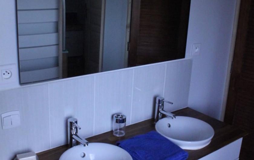 Location de vacances - Chalet à Ruminghem - lavabo