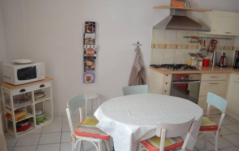 Location de vacances - Maison - Villa à Tréguier - cuisine équipée