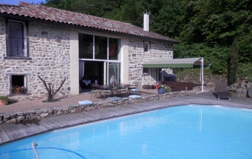 Location de vacances - Gîte à Saint-Didier-sur-Beaujeu