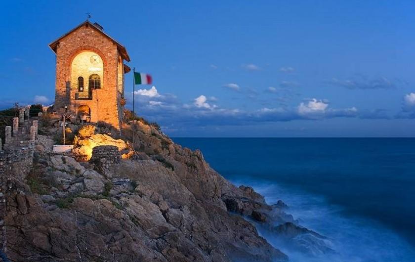 Location de vacances - Appartement à Alassio - petit chapelle