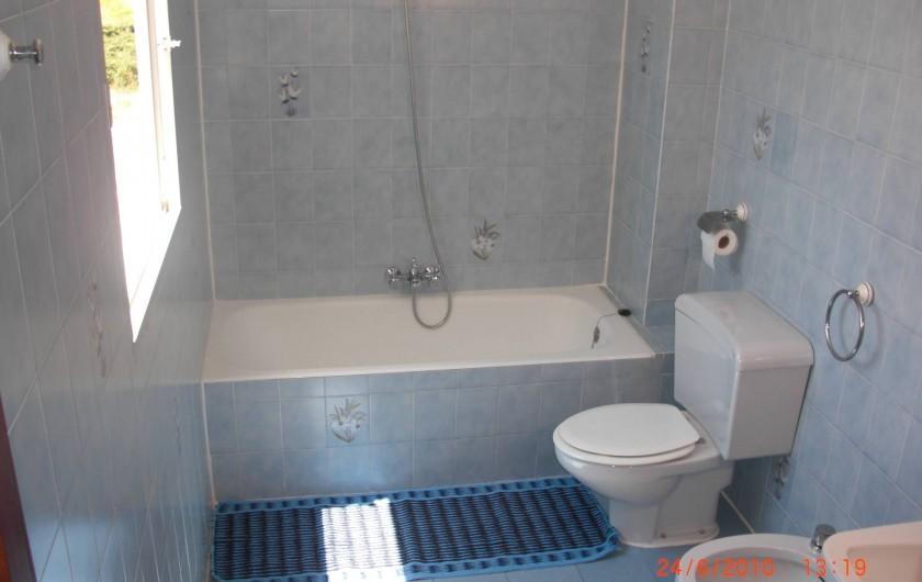 Location de vacances - Appartement à Valence - Grande sale de bain