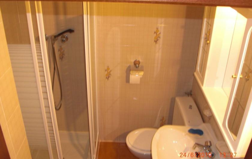Location de vacances - Appartement à Valence - bain douche