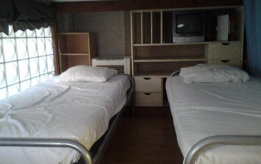 Location de vacances - Appartement à Cannes - 2 LITS DANS LA MEZZANINE