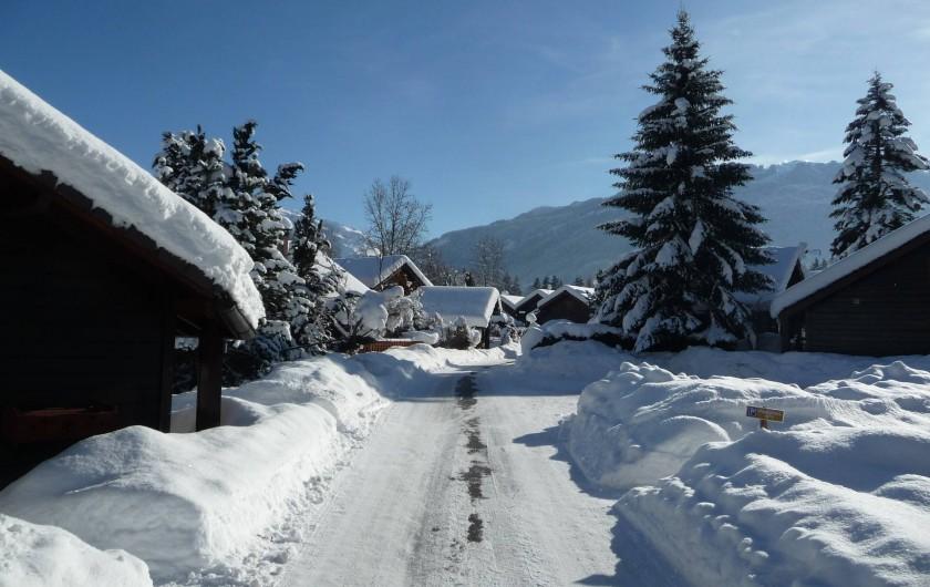 Location de vacances - Chalet à Verchaix