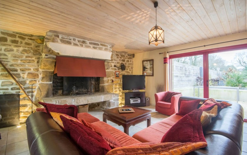 Location de vacances - Villa à Ploemel - la salle à manger