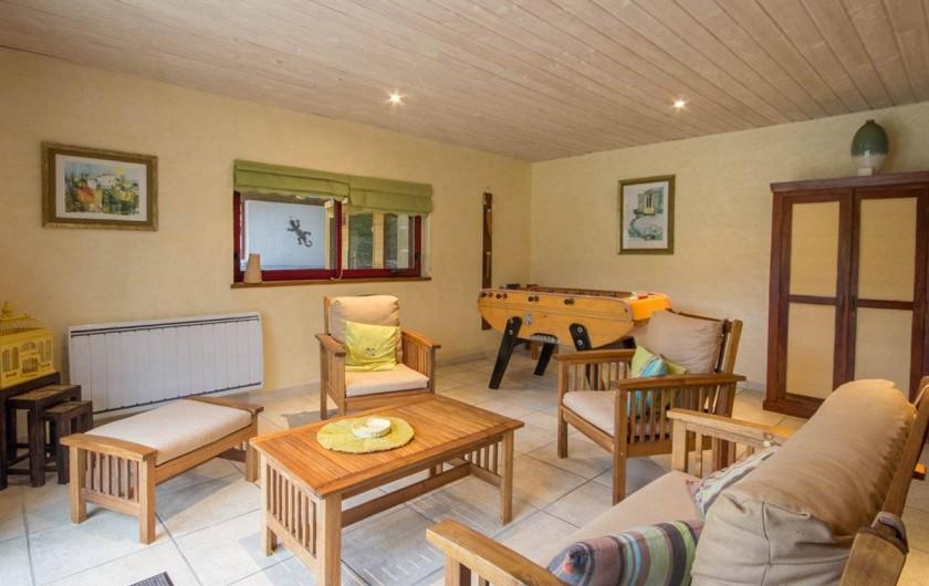 Location de vacances - Villa à Ploemel - le salon