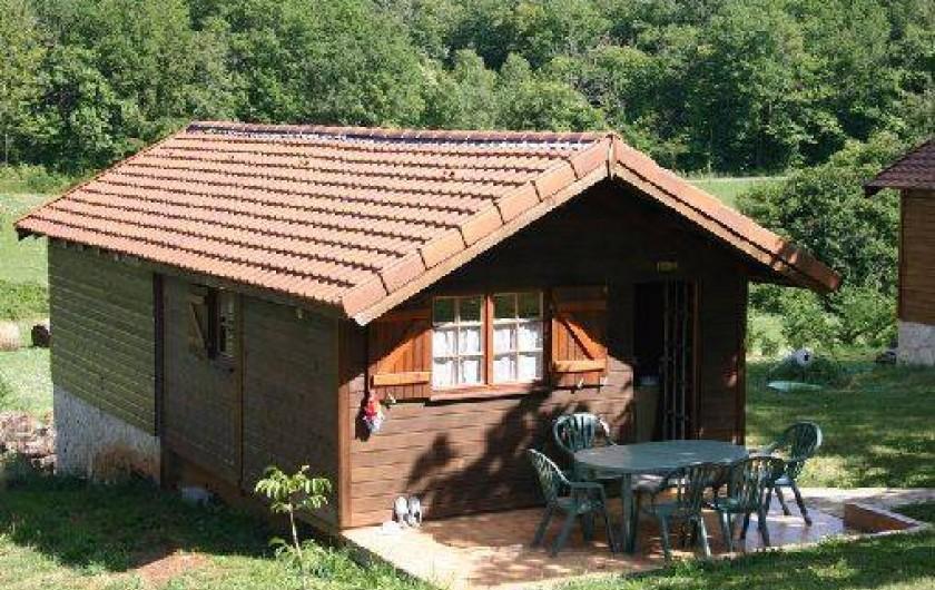 Location de vacances - Chalet à Puy-l'Évêque